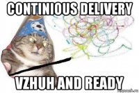 continious delivery vzhuh and ready