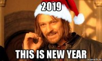 2019 this is new year
