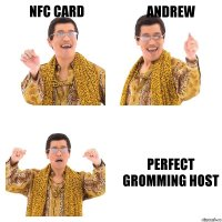 NFC Card ANDREW Perfect gromming host