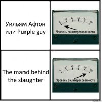 Уильям Афтон или Purple guy The mand behind the slaughter