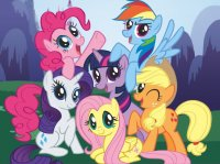 Создать мем My little pony