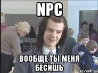 NPC Вообще ты меня бесишь