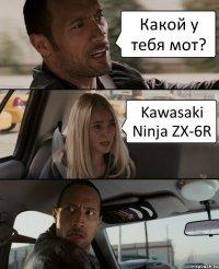 Какой у тебя мот? Kawasaki Ninja ZX-6R