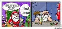 filled tempo
