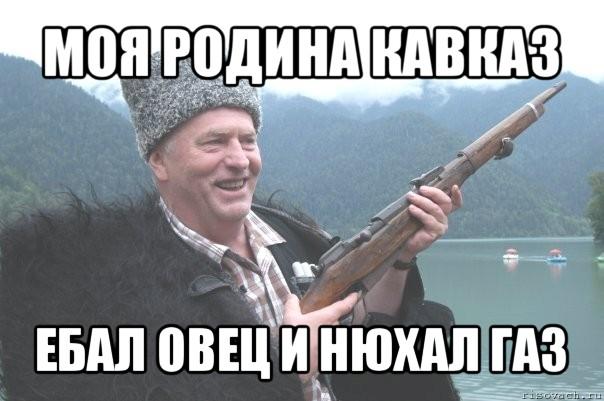 моя родина кавказ ебал овец и нюхал газ, Мем жирик - Рисовач .Ру