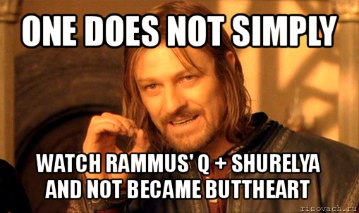 one does not simply watch rammus' q + shurelya and not became ...