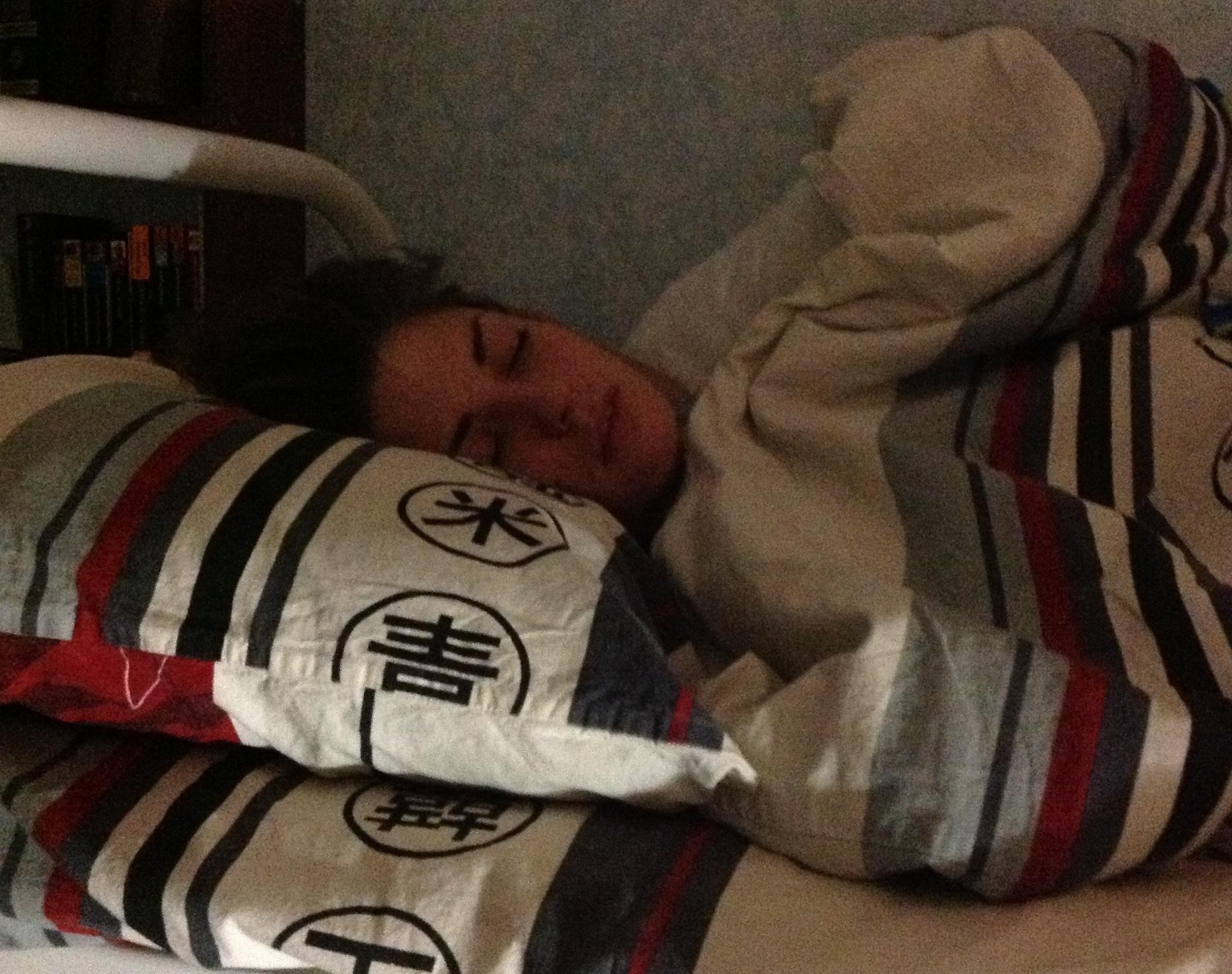 Фото пока девушка спала