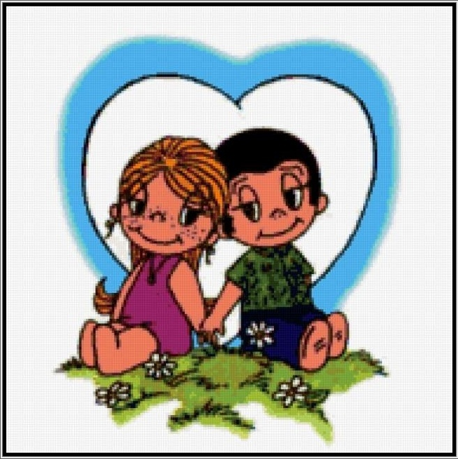 Шаблон Love is - Рисовач .Ру