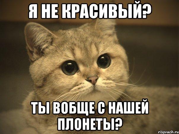 не красивый я: