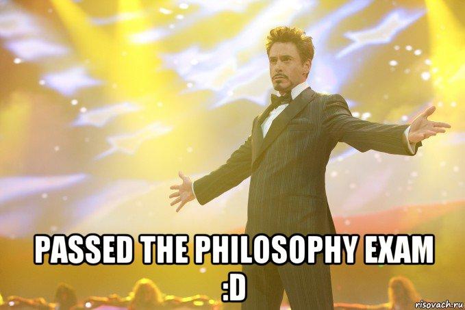 philosophy exam
