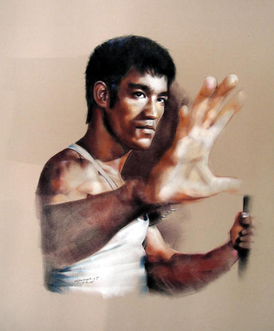 Bruce lee martial art teacher ip man