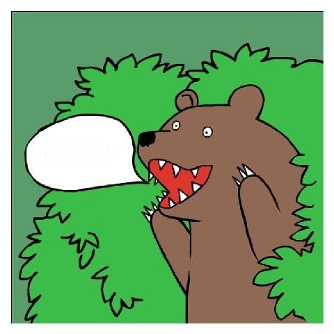 медведь с надписью шлюха
