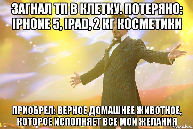 Загнал тп в клетку потеряно iphone 5 ipad 2