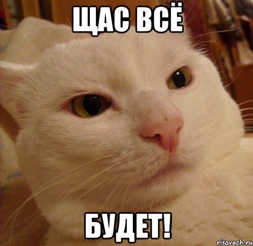 щас всё будет!, Мем Дерзкий котэ - Рисовач .Ру