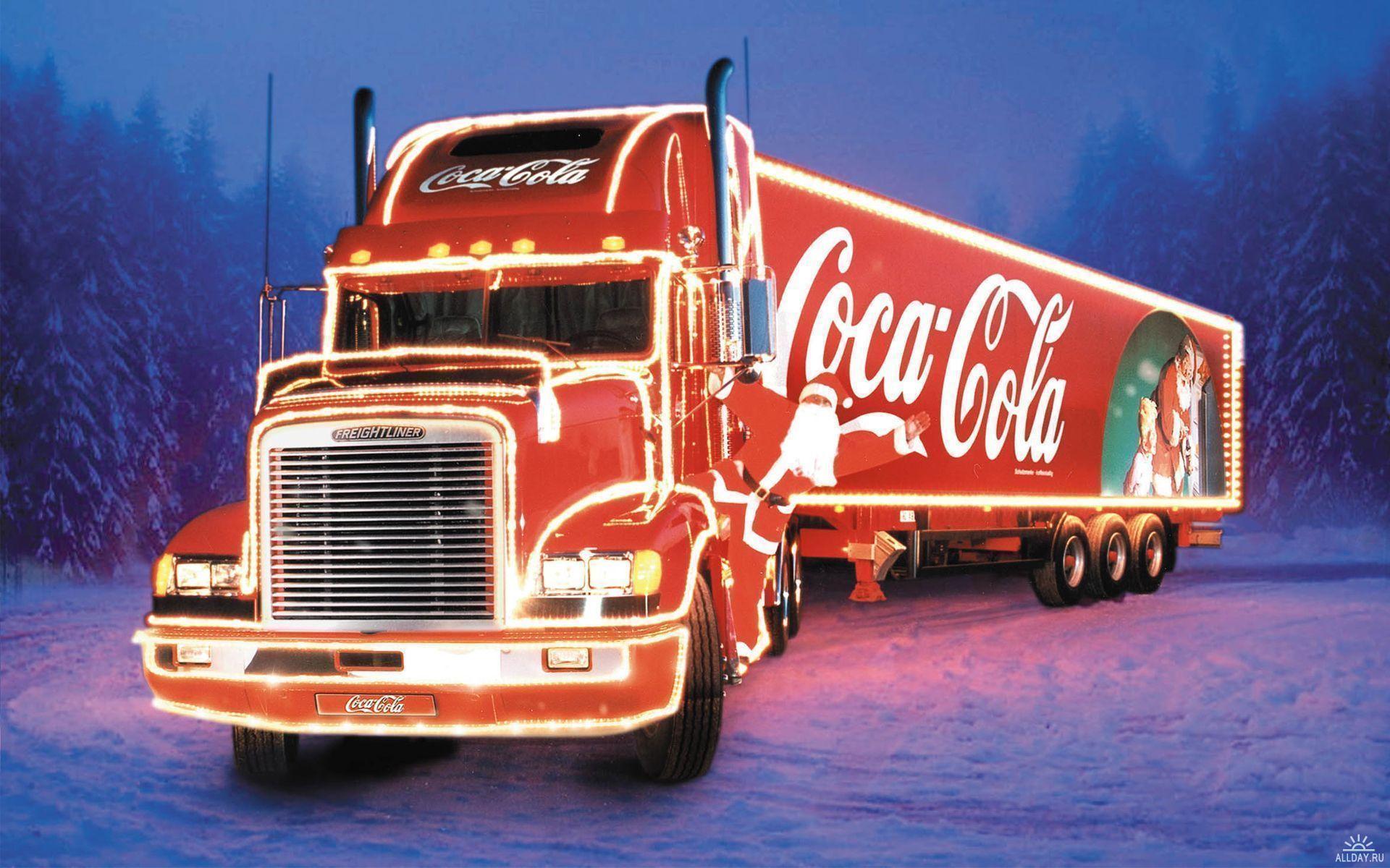 Новорічна Coca-cola