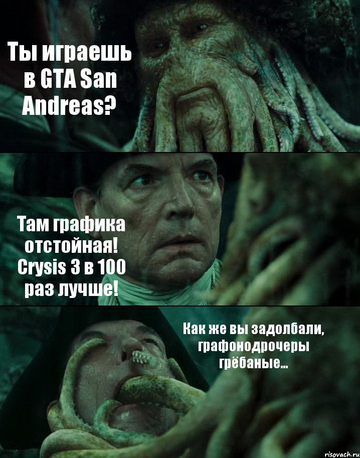 crysis графика: