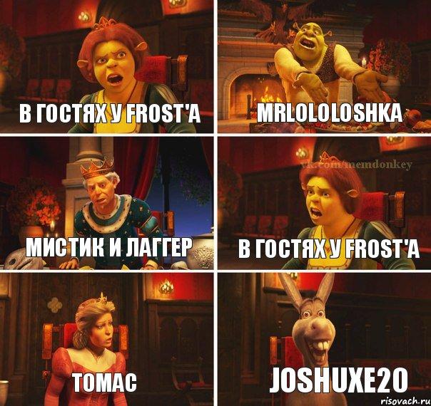 В гостях у Frost'a MrLololoshka Мистик и лаггер В гостях у Frost'a ...