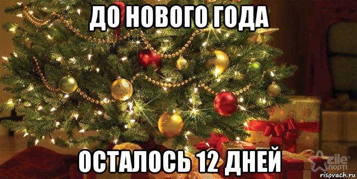 Сколько дней до Нового года 2017 -