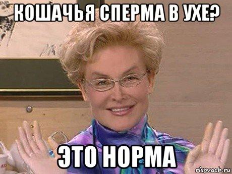 обломался это норма, Мем Елена Малышева - Рисовач .Ру.