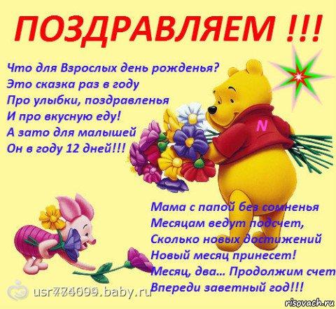Поздравления с днем рождения ребенку для родителей