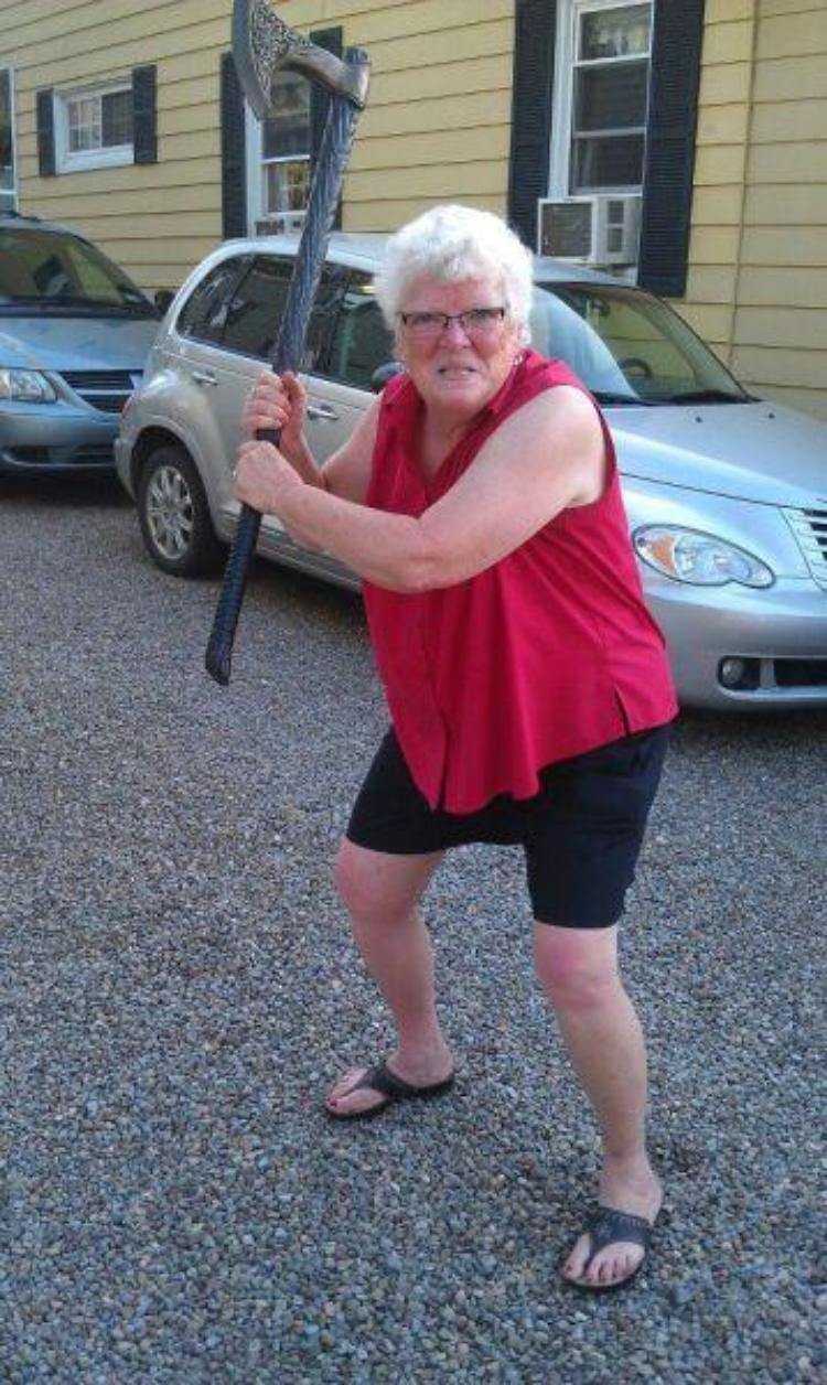 Приколы с толстыми старухами 4 фотография