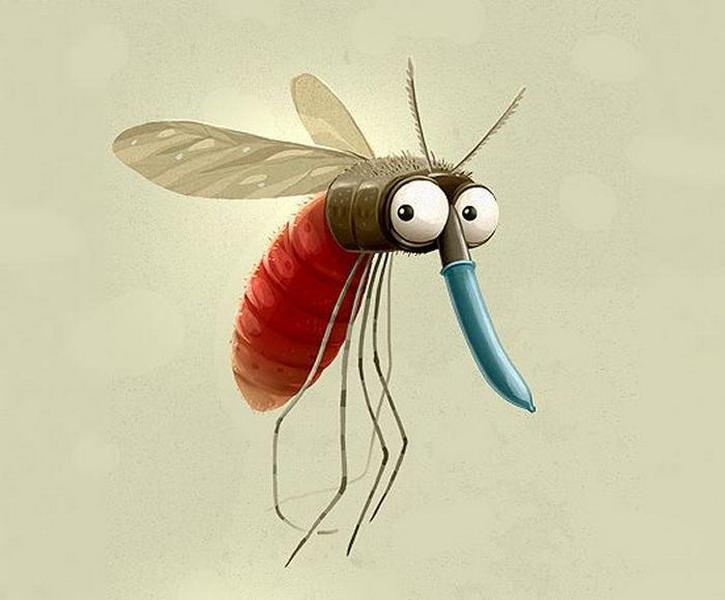 Как сделан комар