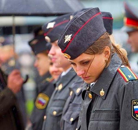 Russian police girl halloween