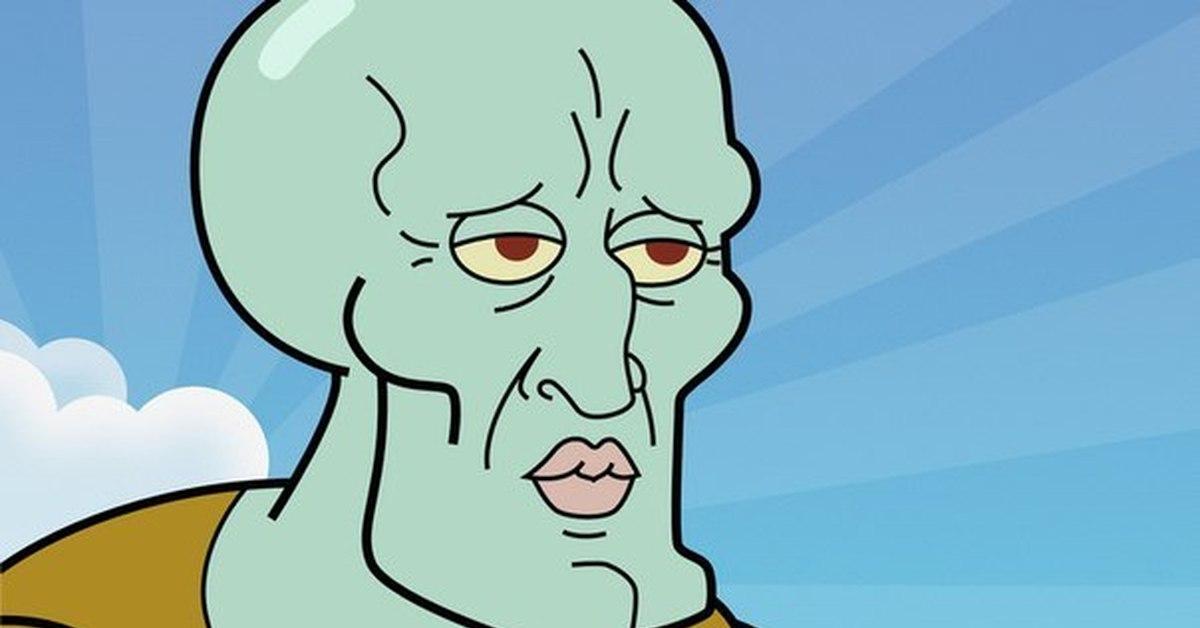 Squidward's nose