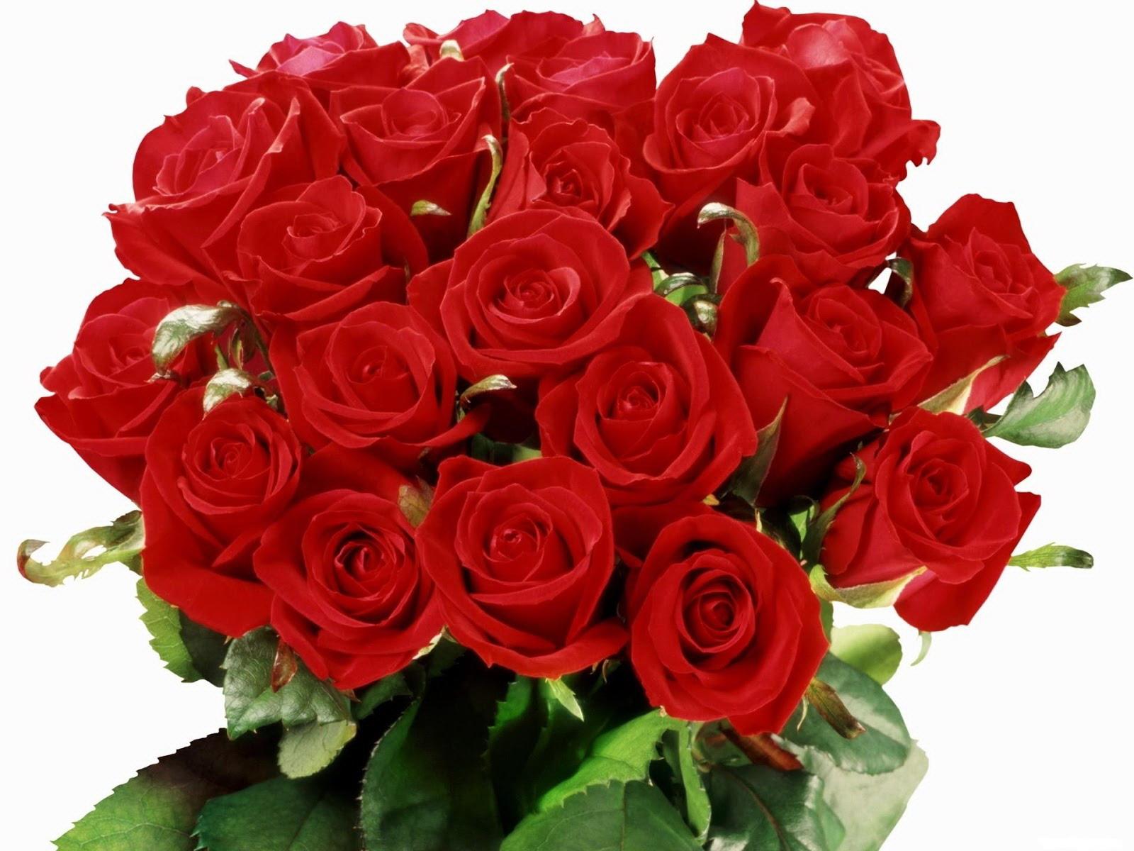 Открытка с розами букет 123