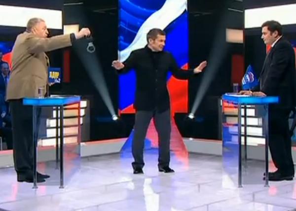 an arguments in talk show debates