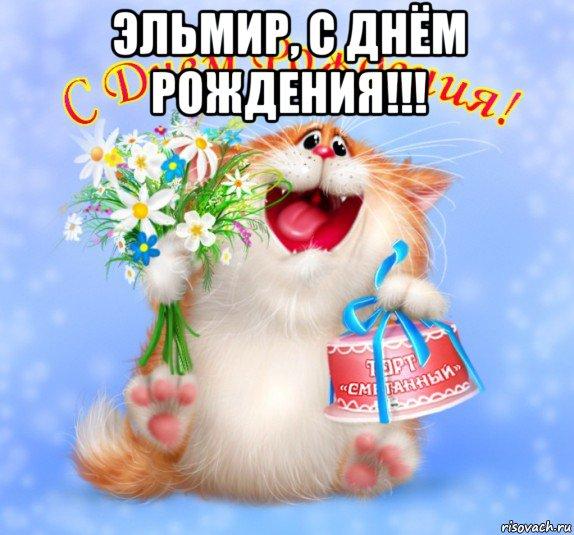 С днем рождения эльмир