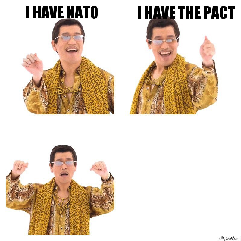 I have NATO i have the pact , Комикс  Ppap penpineapple