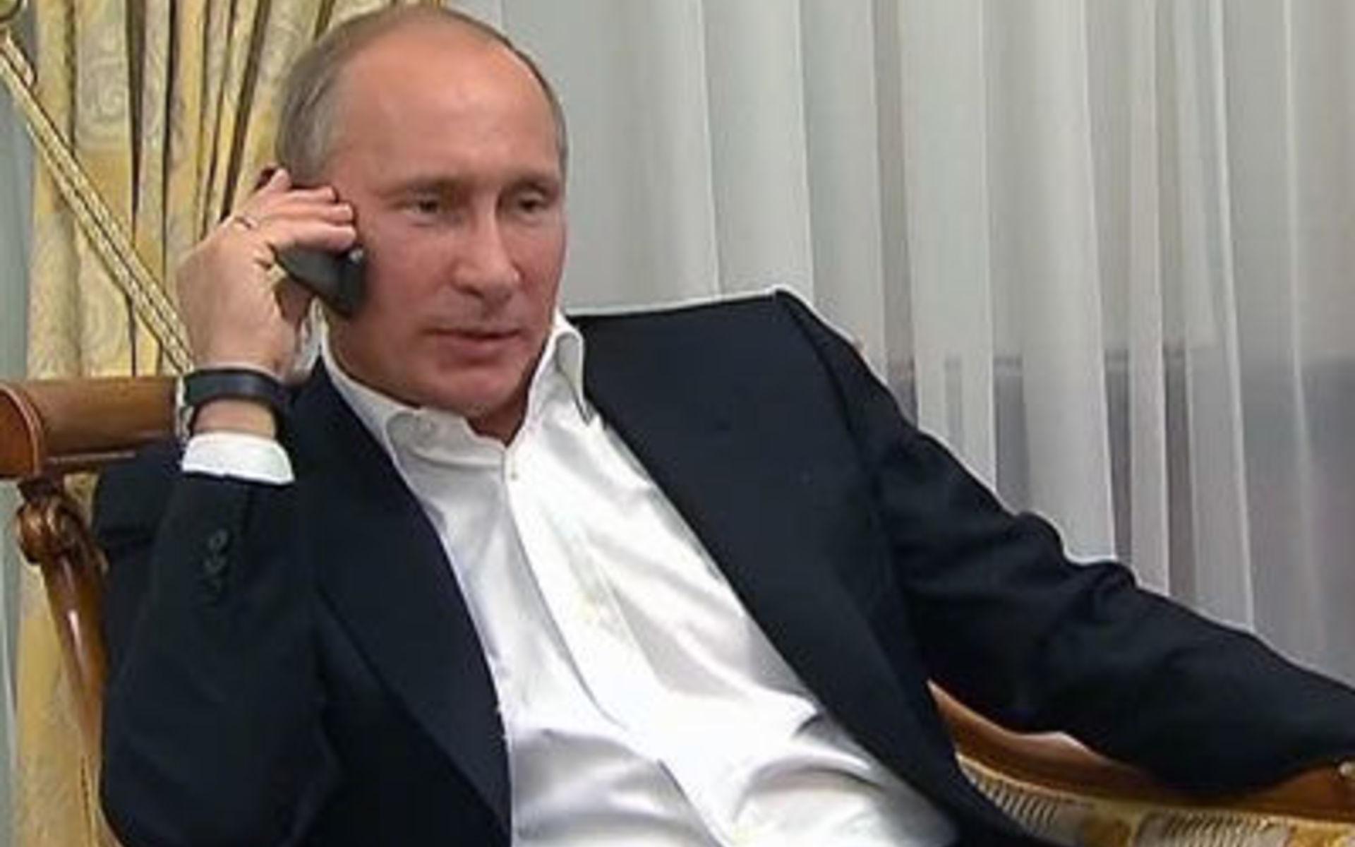 Поздравления путин по телефону