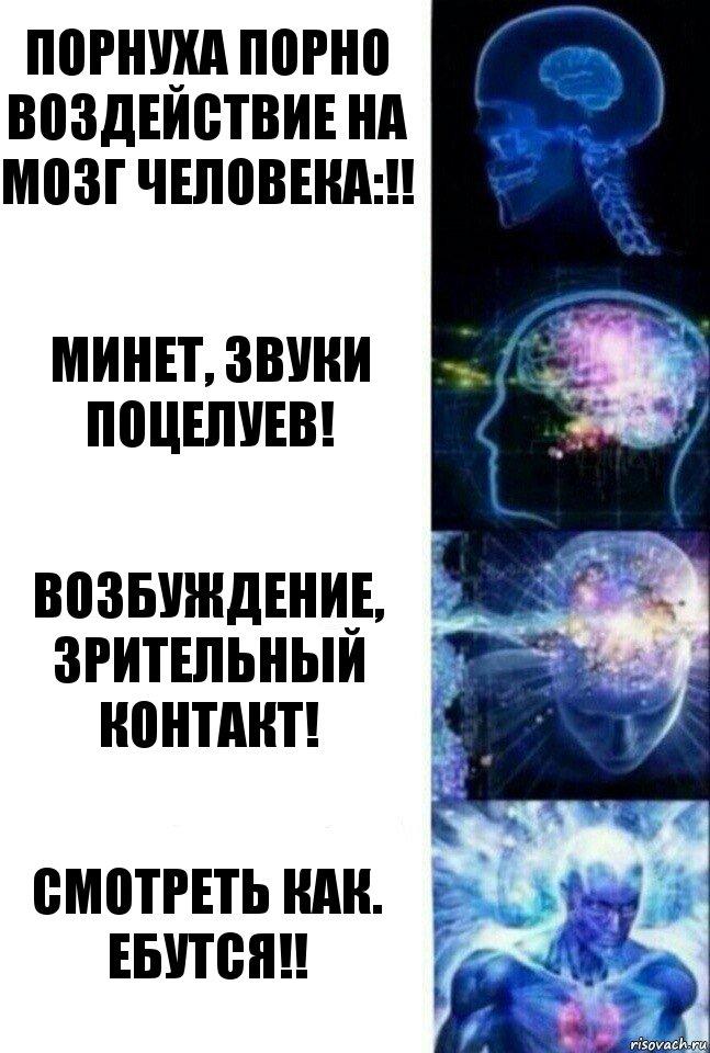 Воздействие на мозг порно