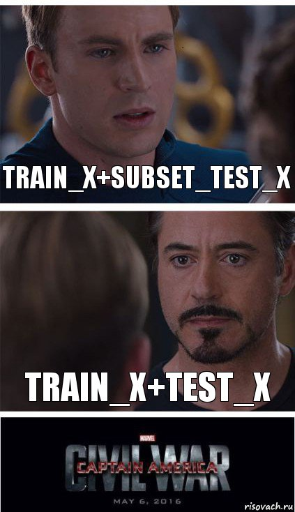 train_x+subset_test_x train_x+test_x, Комикс   Гражданская Война